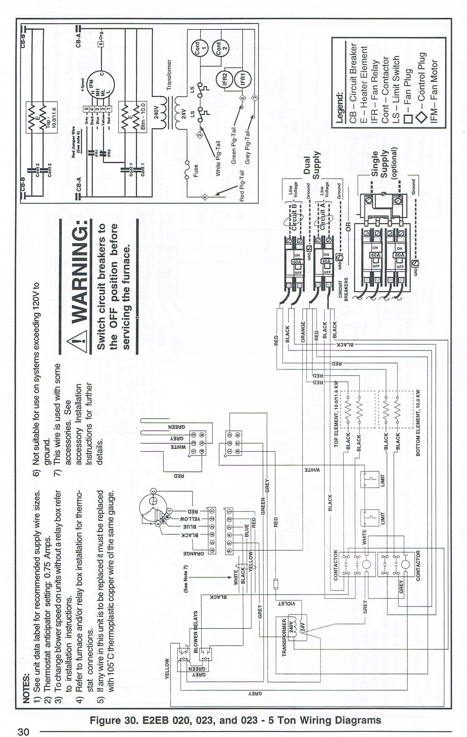 35 Nordyne Electric Furnace Wiring Diagram