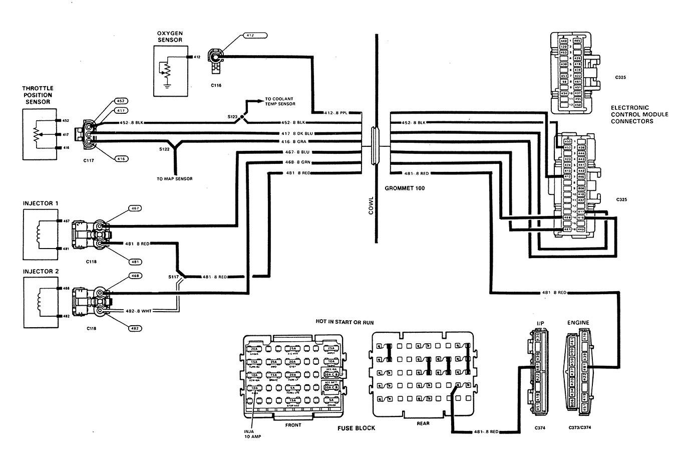 Jeep Grand Cherokee O2 Sensor Wiring Diagram
