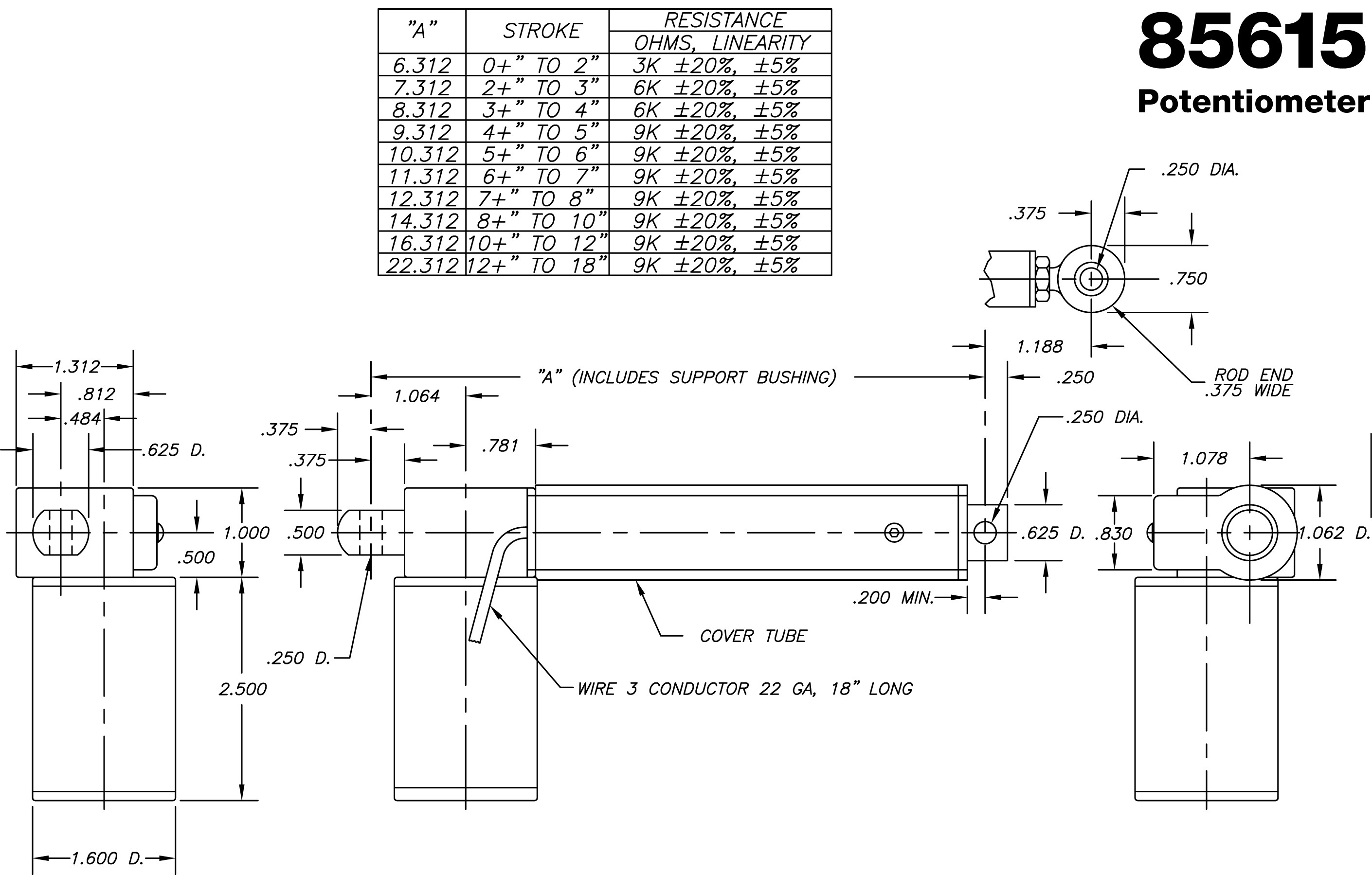 Potentiometer Circuit Diagram And Working