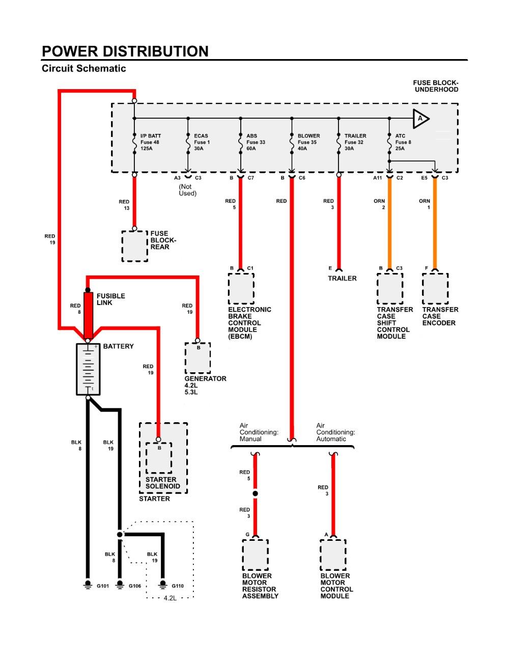 Chevy Silverado 1500 Blower Motor Wiring Diagram