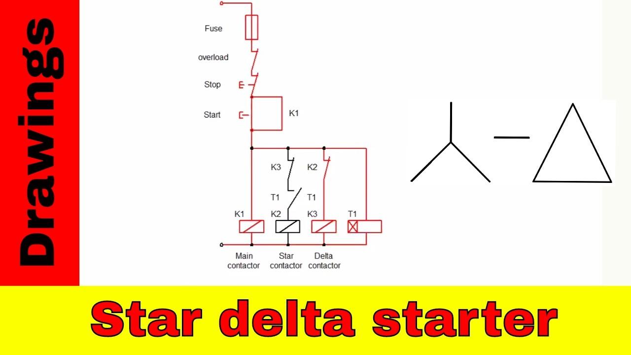 Wye    Delta    Motor Control Ladder    Diagram     impremedia