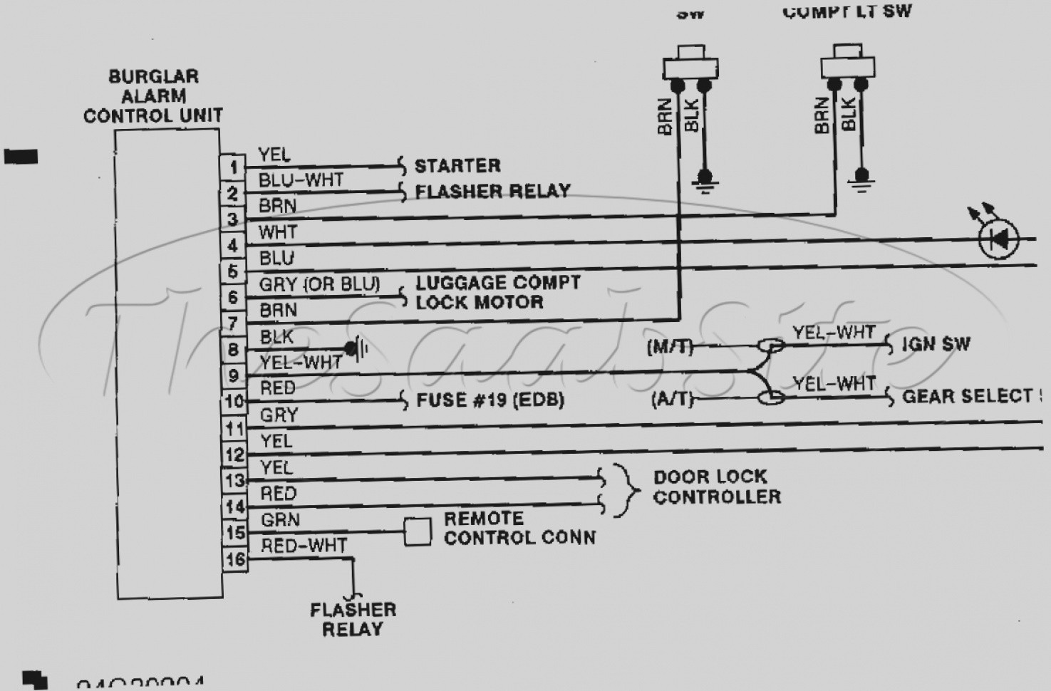 906 Strobe Wiring Diagram