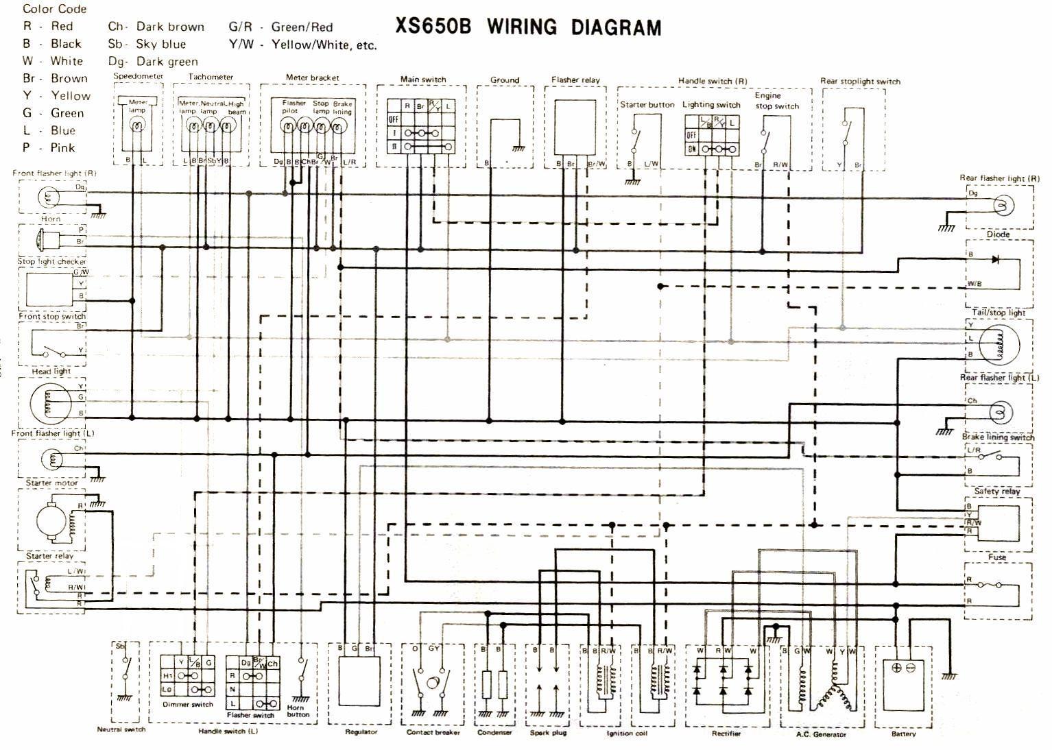 star v diagram yamaha 650 wiringYamaha V Star 650 Wiring Diagram Tach #18