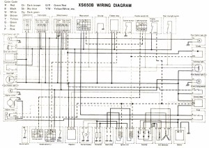 Yamaha 650 Dragstar Wiring Diagram  Wiring Diagram