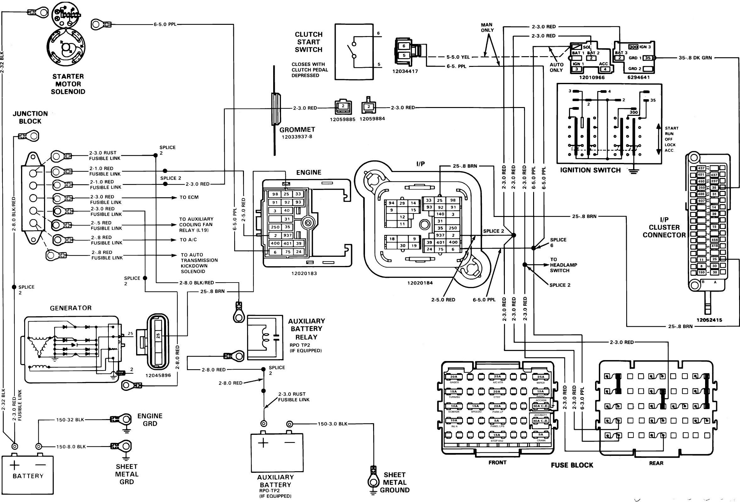 Diagram Fuse Box For Buick Park Avenue