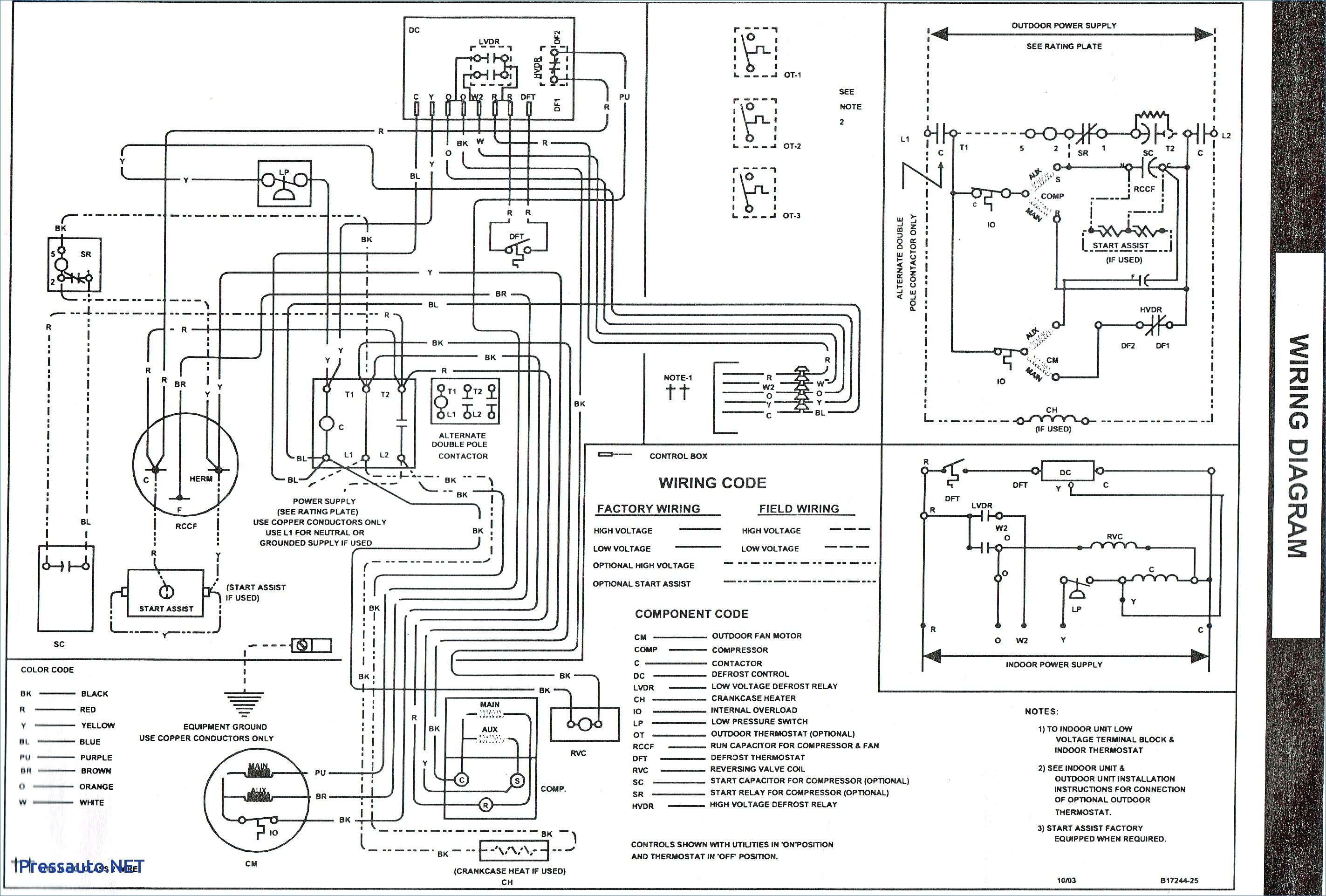 Goodman Furnaces Wiring Diagrams Unique
