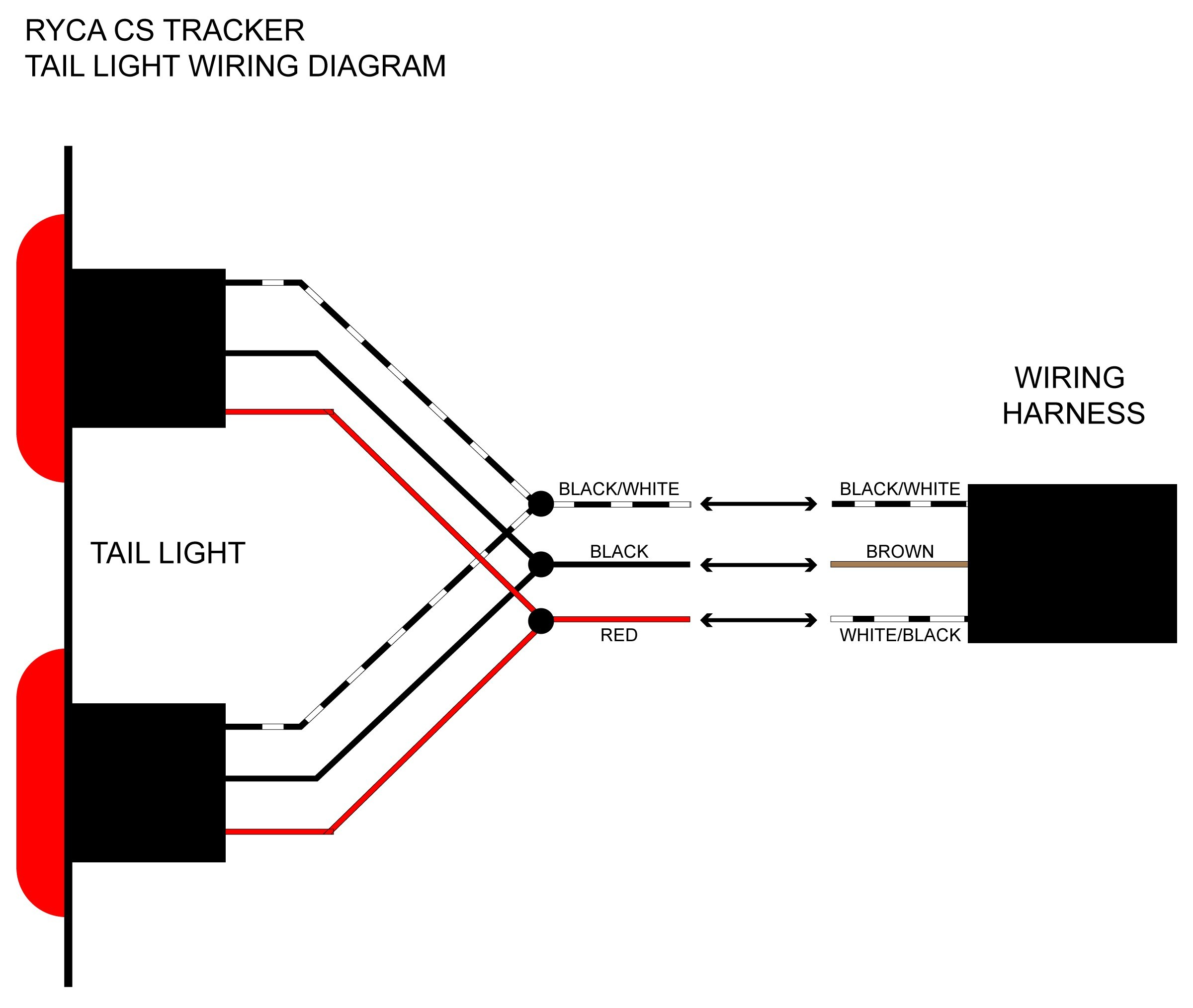 dakotum tail light wiring diagram