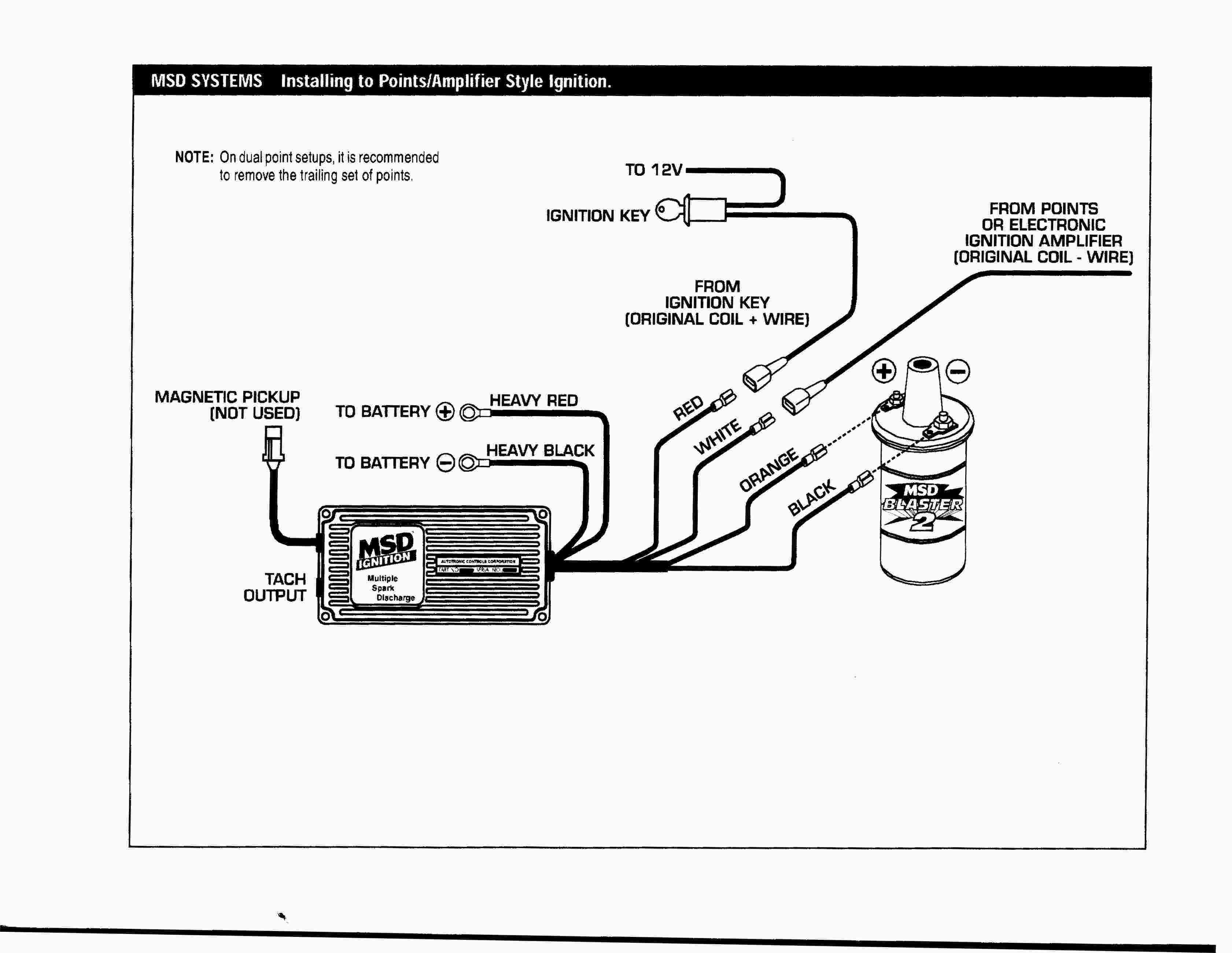 Msd Digital 6al Wiring Diagram Elegant