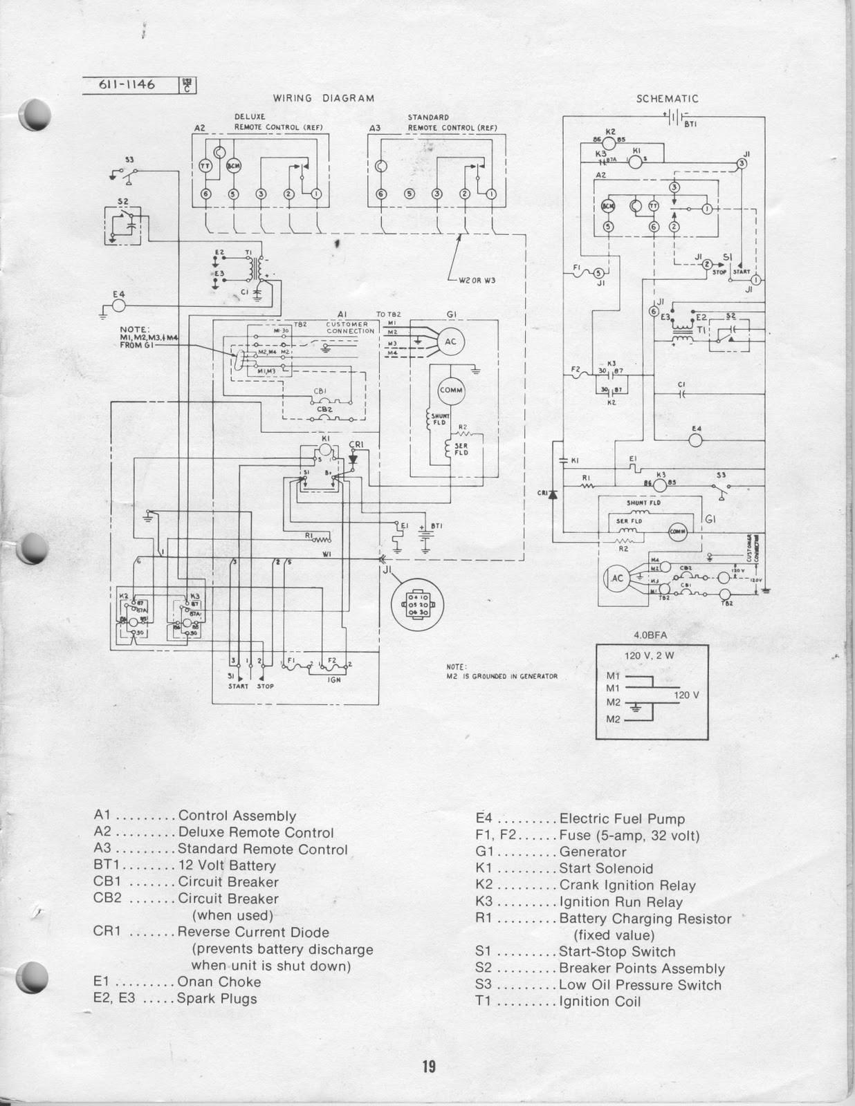 Onan 4 5 Bgd Emerald Generator Wiring Diagram