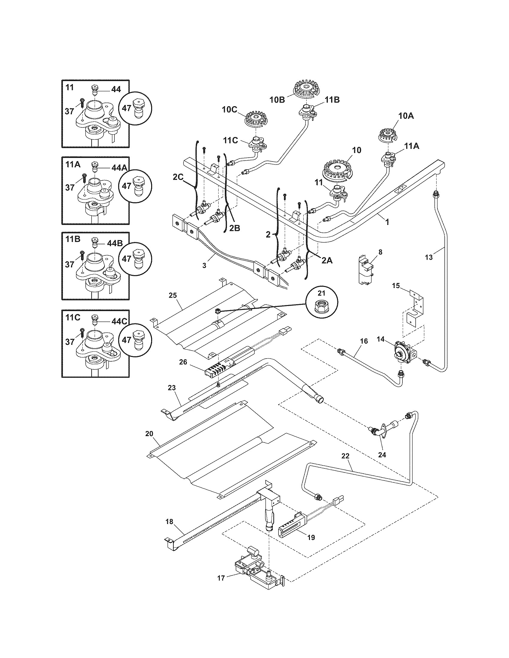 Pressure Washer Burner Wiring Diagram