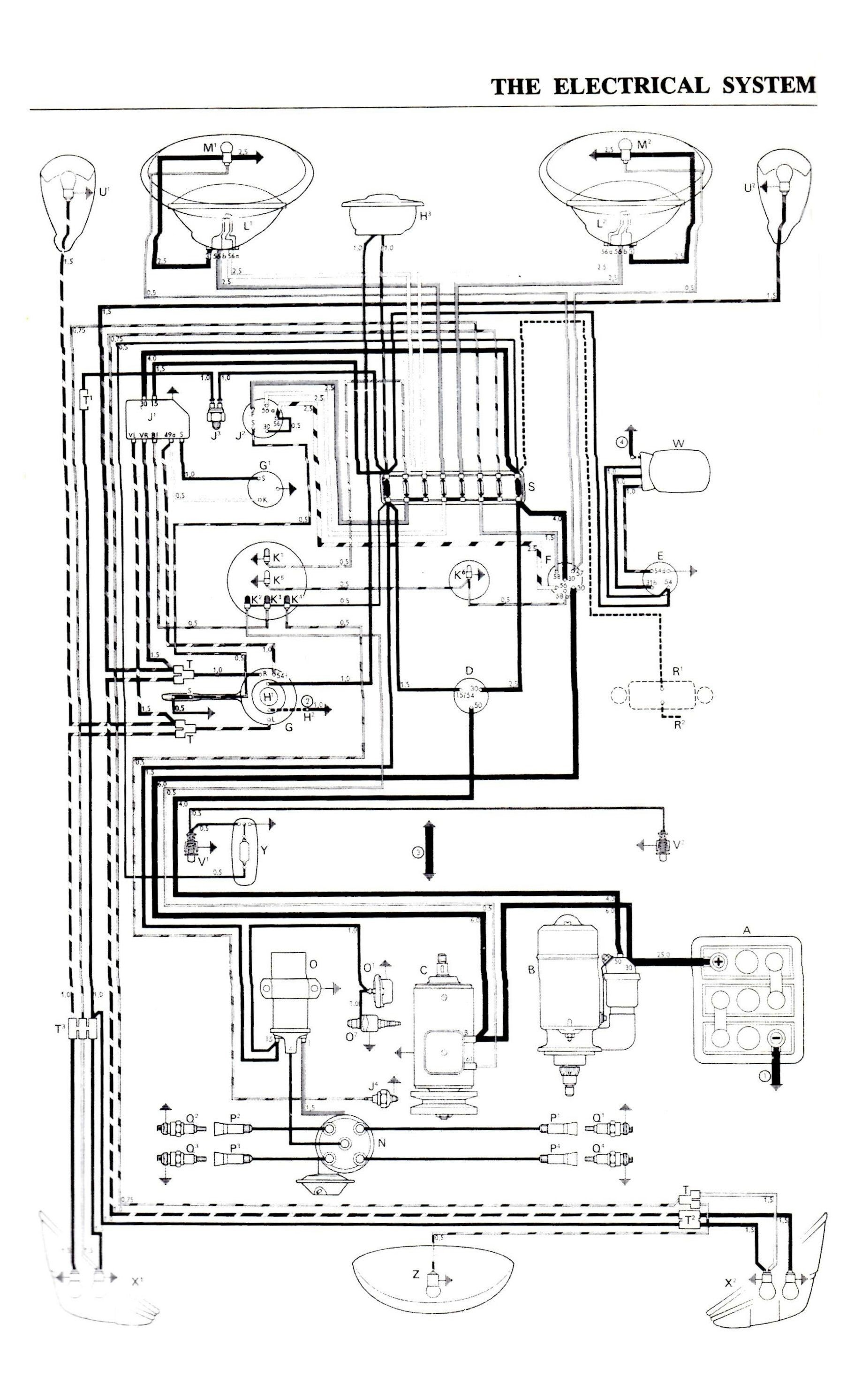 P Rail Wiring Diagram Color