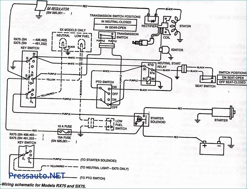John Deere L120 Mower Wiring Diagram