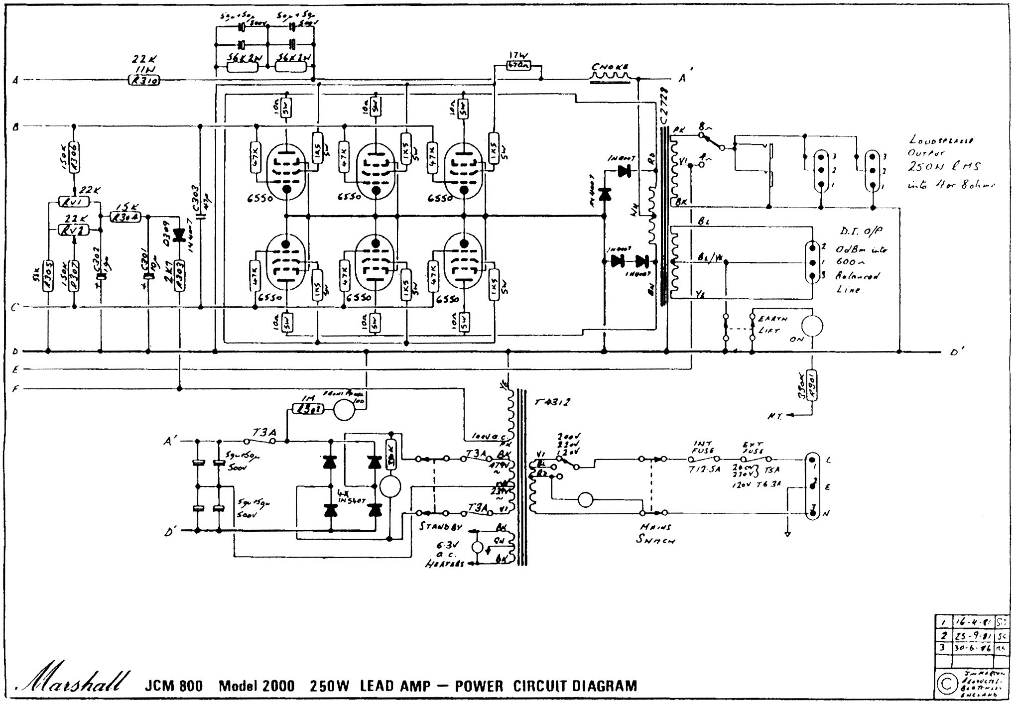 2 Channel Car Amp Schematic