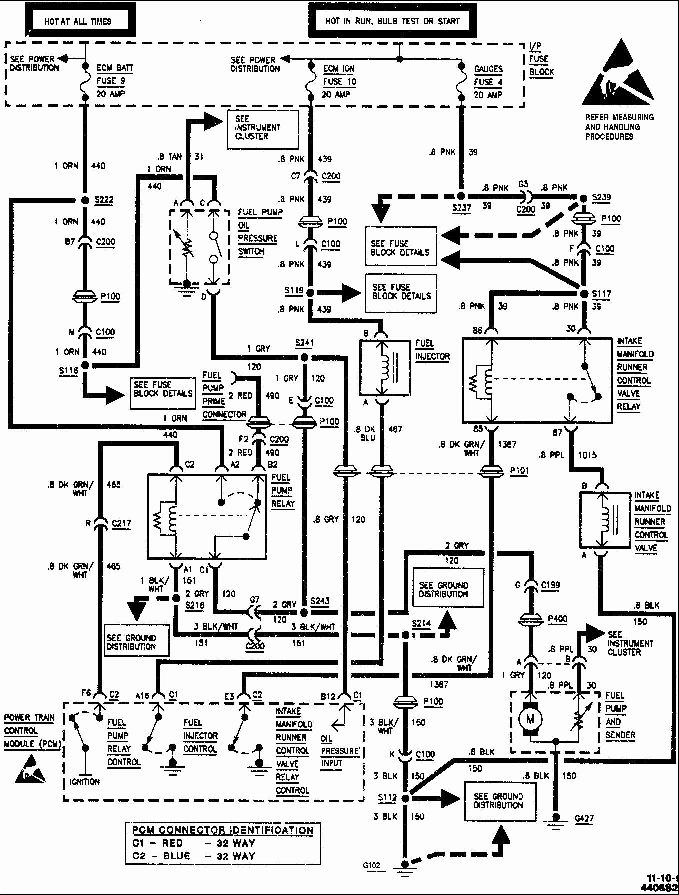 88 Chevy Fuel Pump Relay Diagram Where Is The Fuel Pump