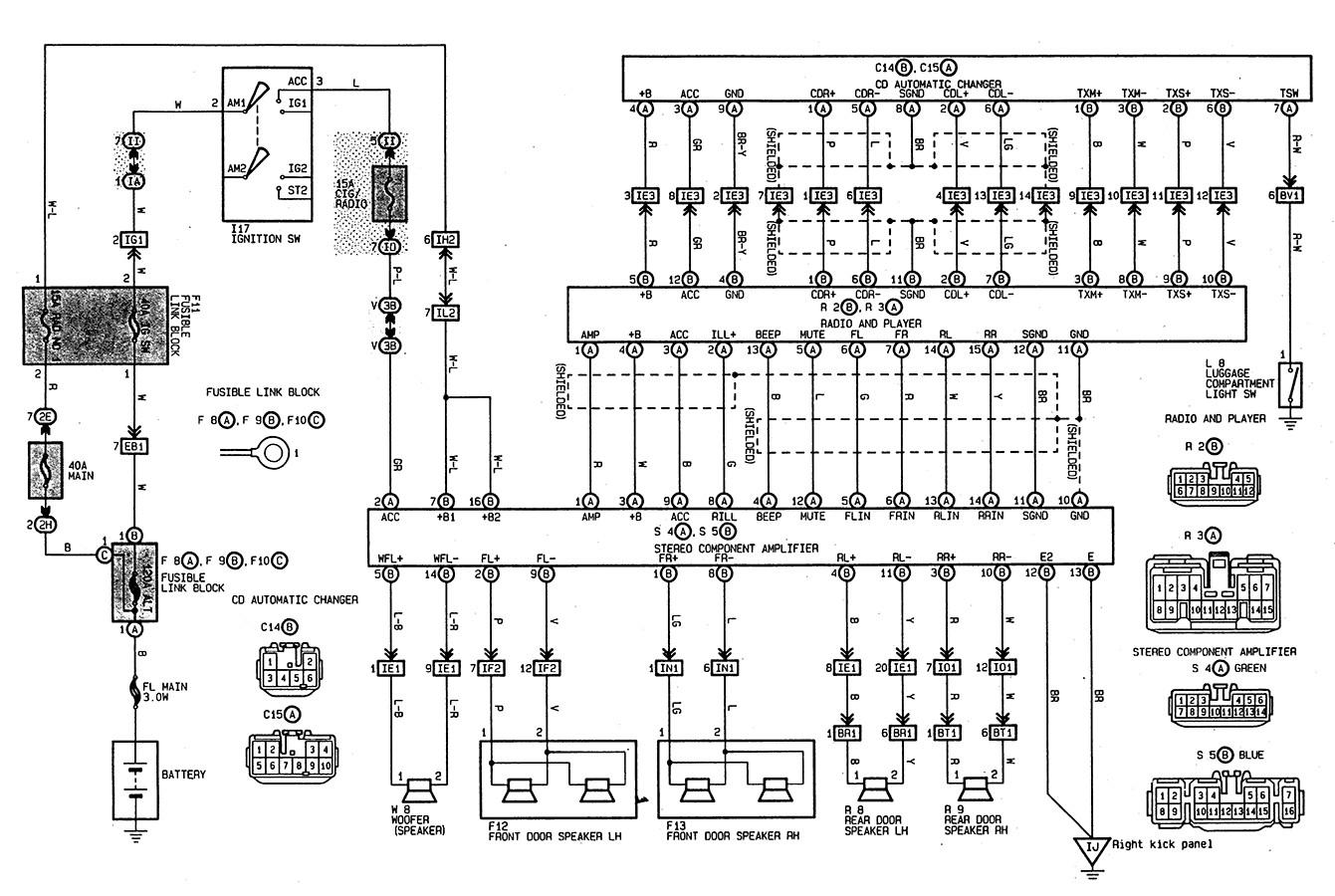 97 Toyota 4runner Radio Wiring