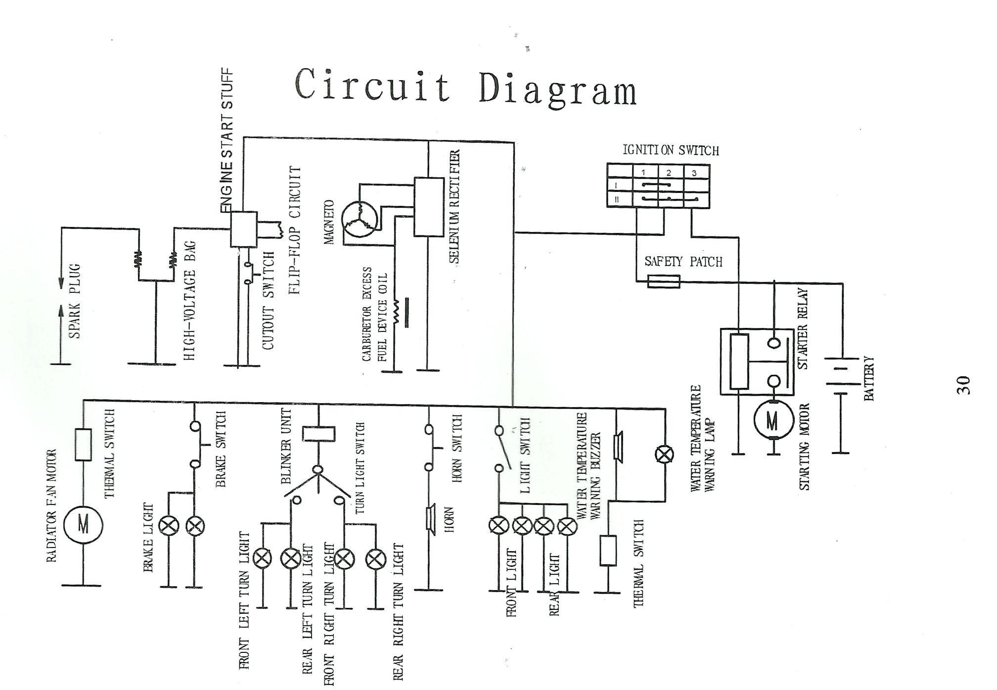 Bicycle 49cc Wiring Diagram