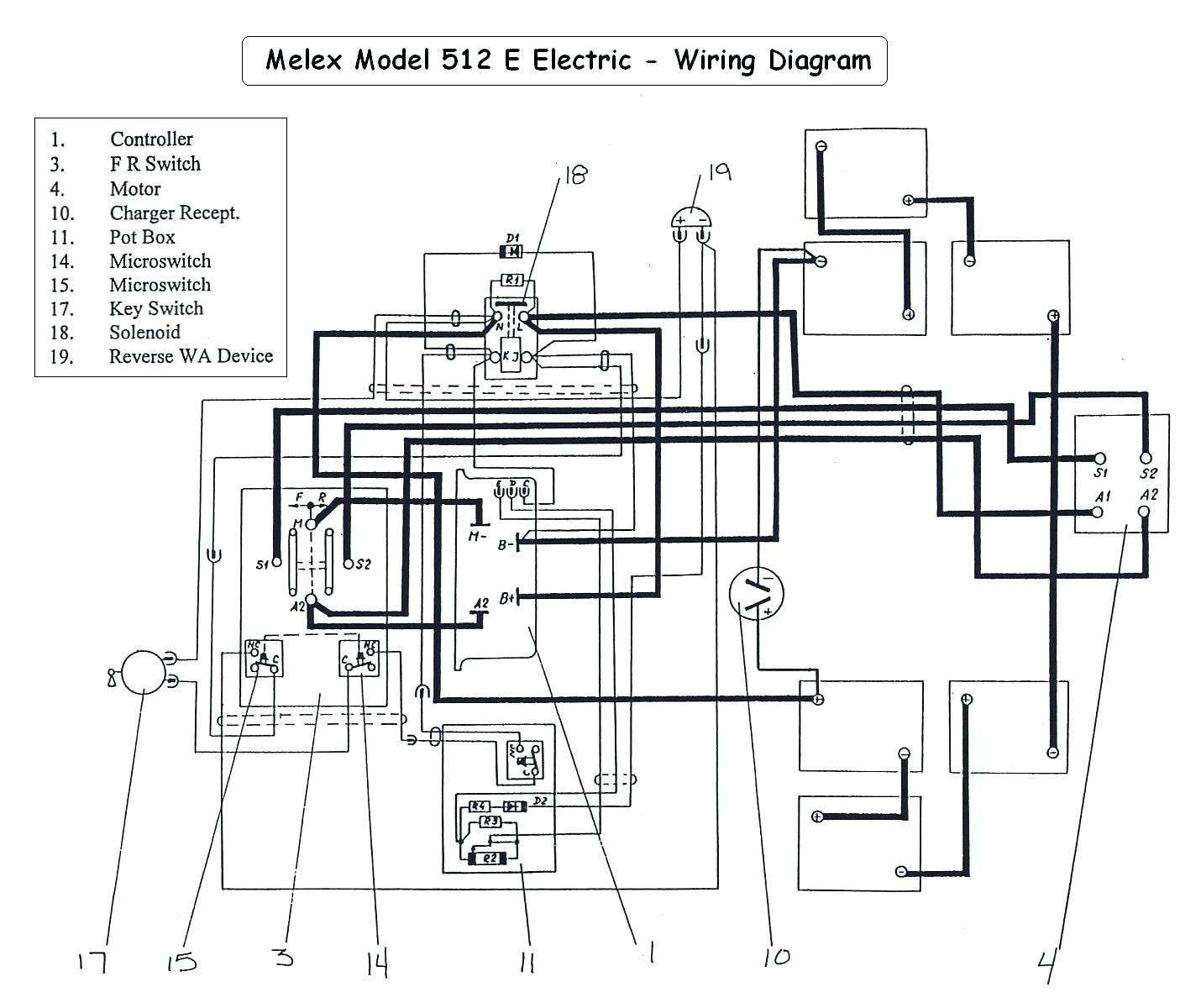 95 Ezgo Wiring Diagram