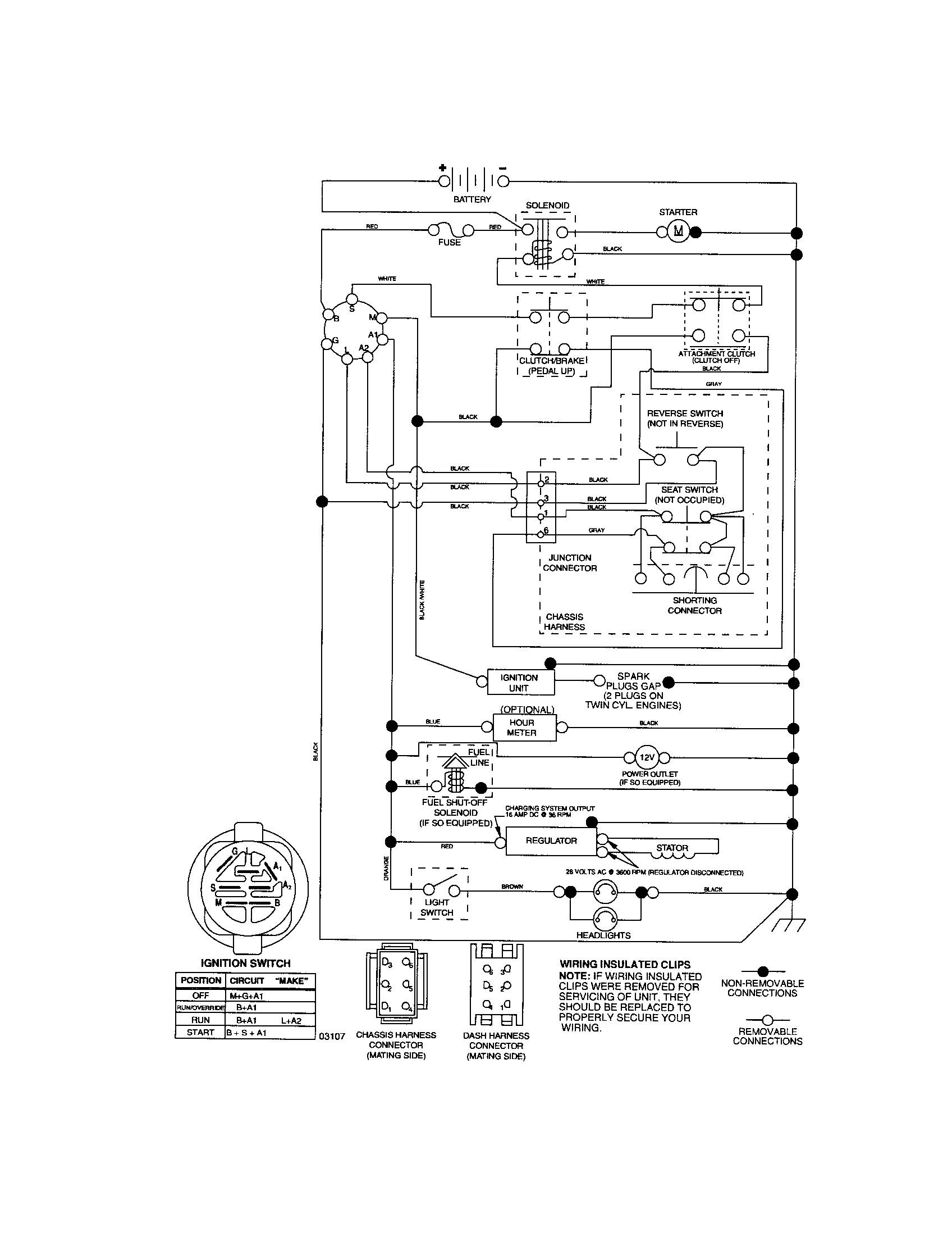 Craftsman Lt Wiring Diagram Unique