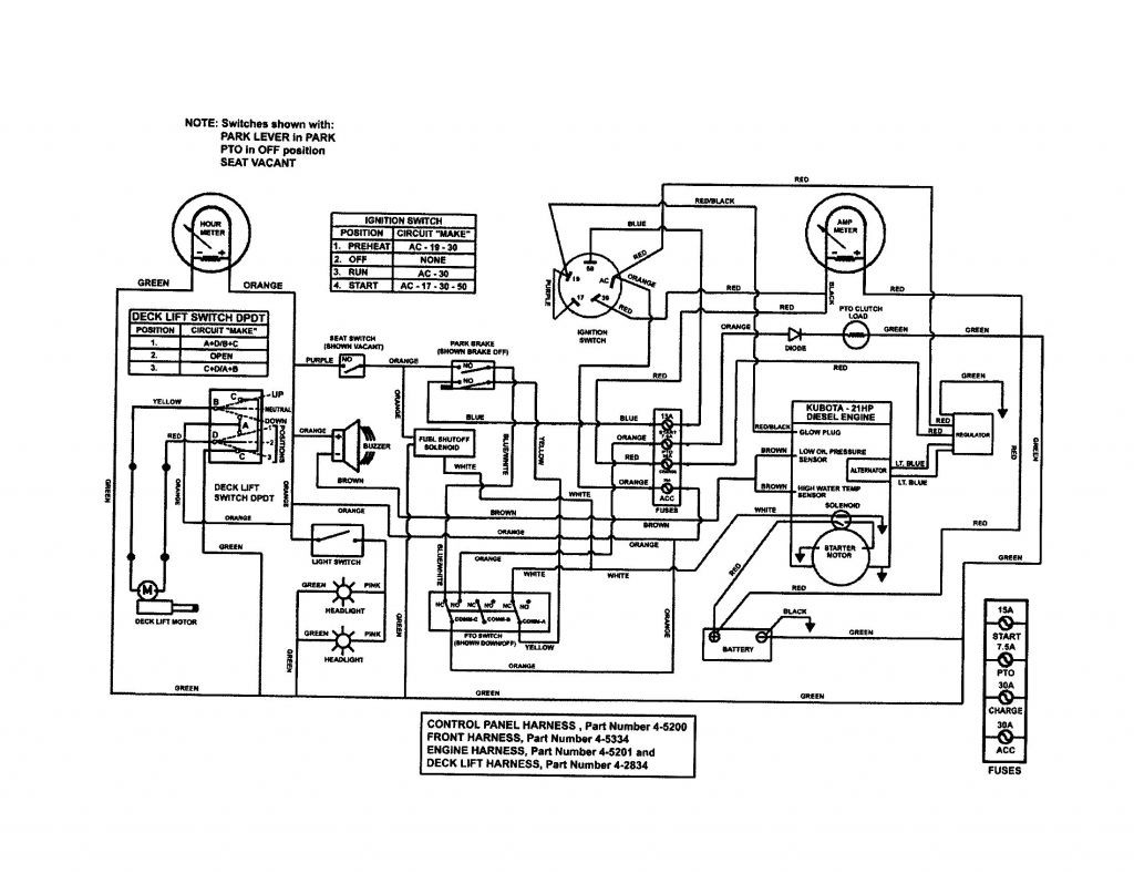 Kubota B Engine Diagram