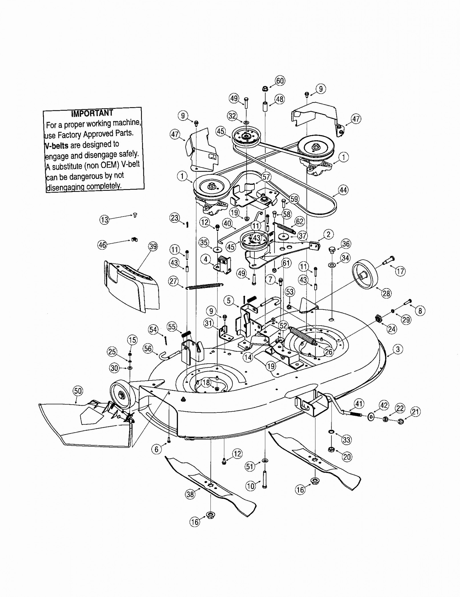 26 Troy Bilt Drive Belt Diagram