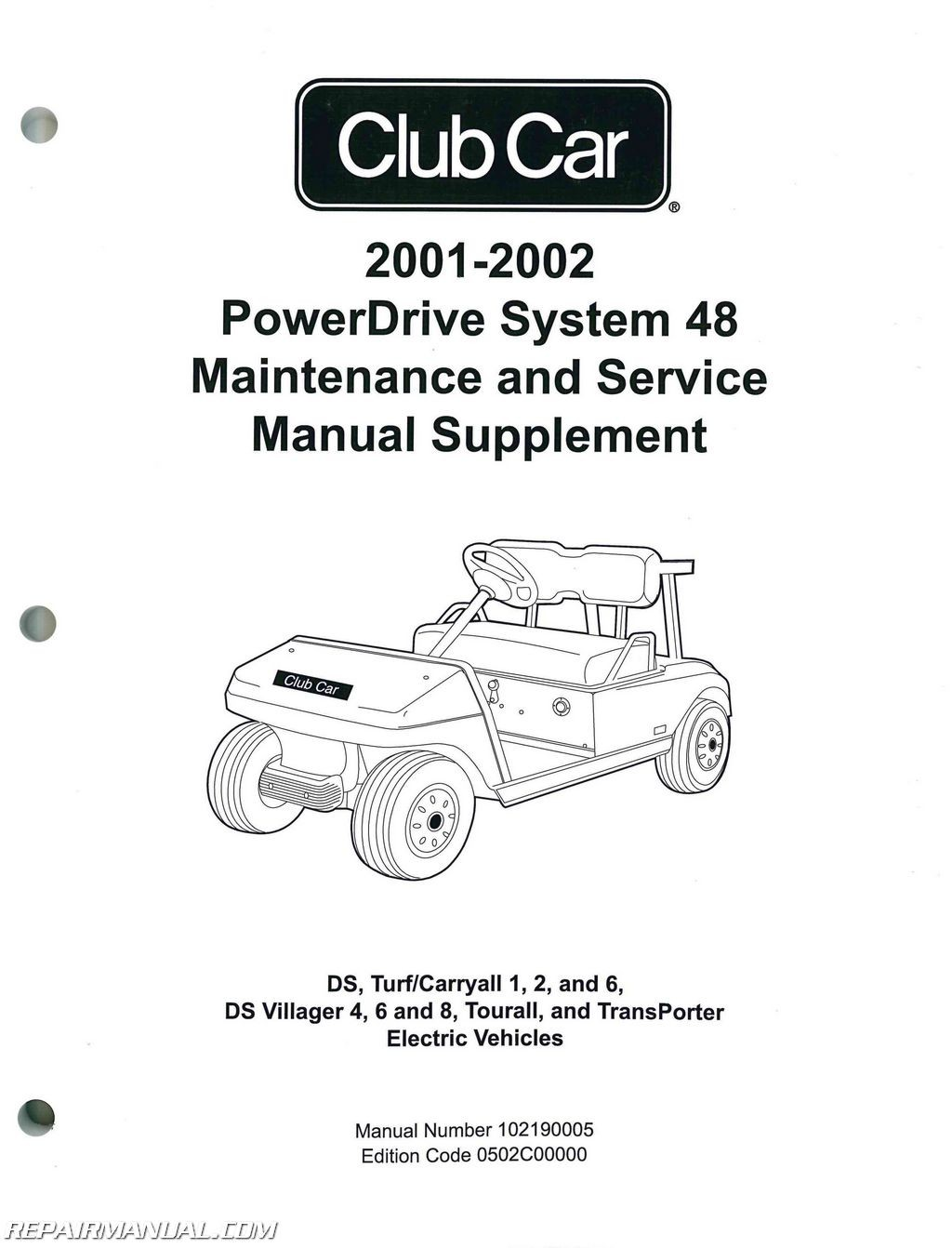 Free Club Car Manual