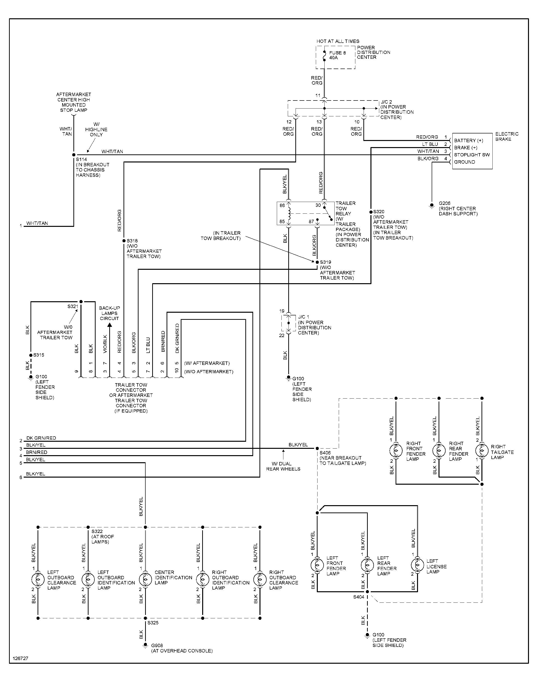 Chevy Hd Trailer Wiring Diagram