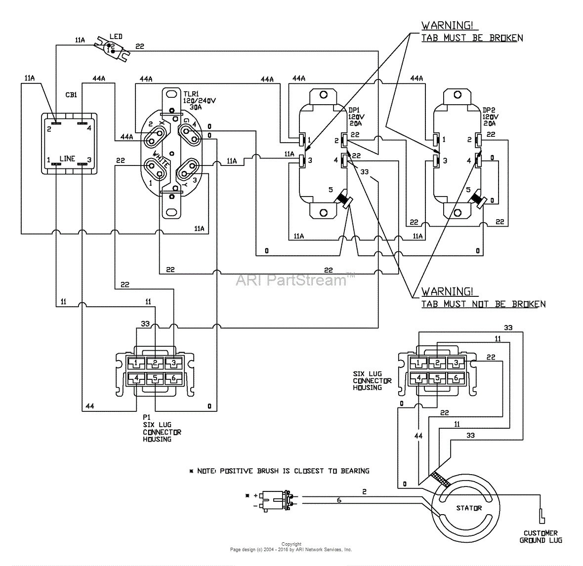12 Wire Motor Schematic