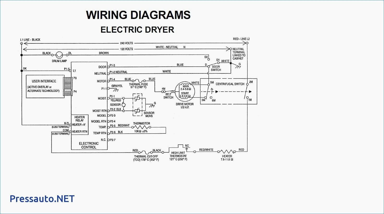 Kenmore Dryer Wiring Diagrams