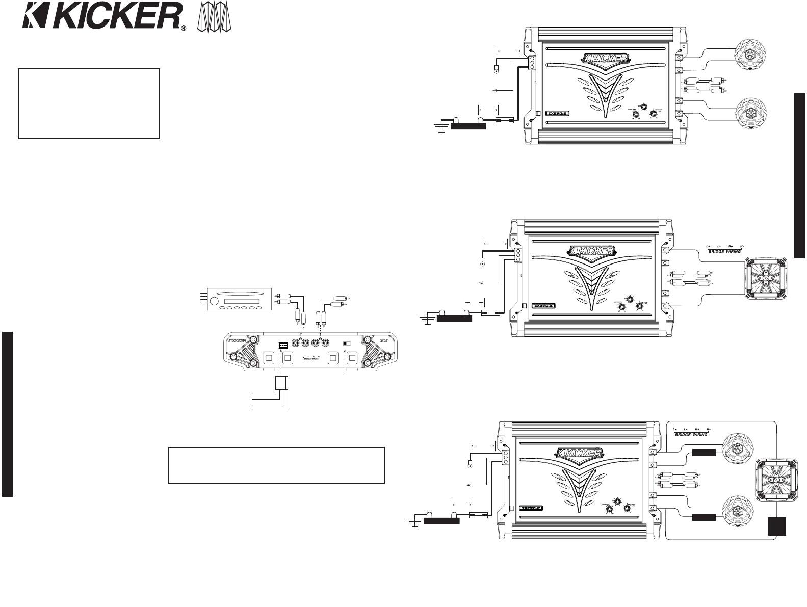 Kicker Solo Baric L7 Wiring Diagram New