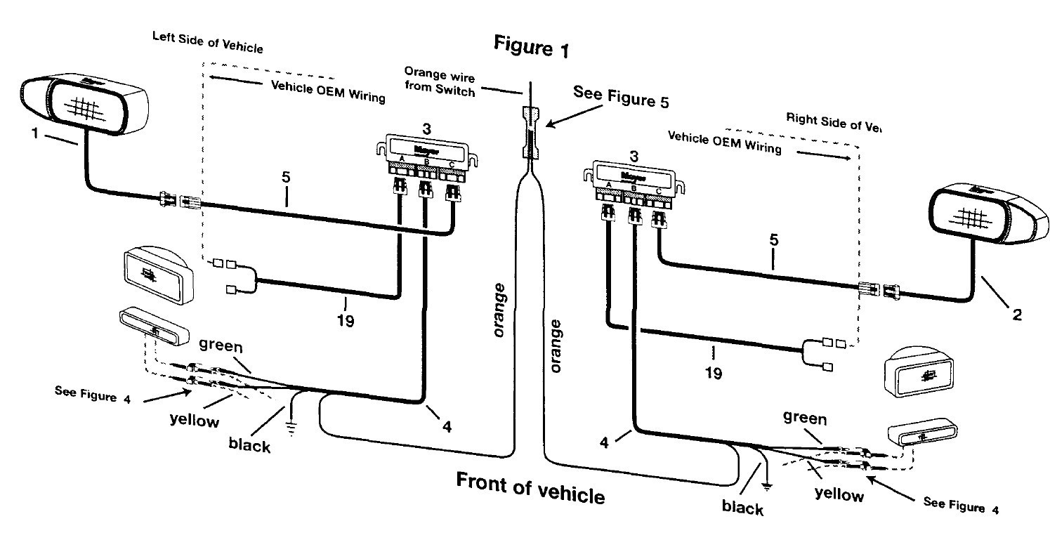 Meyers Plow Light Wiring Diagram Awesome