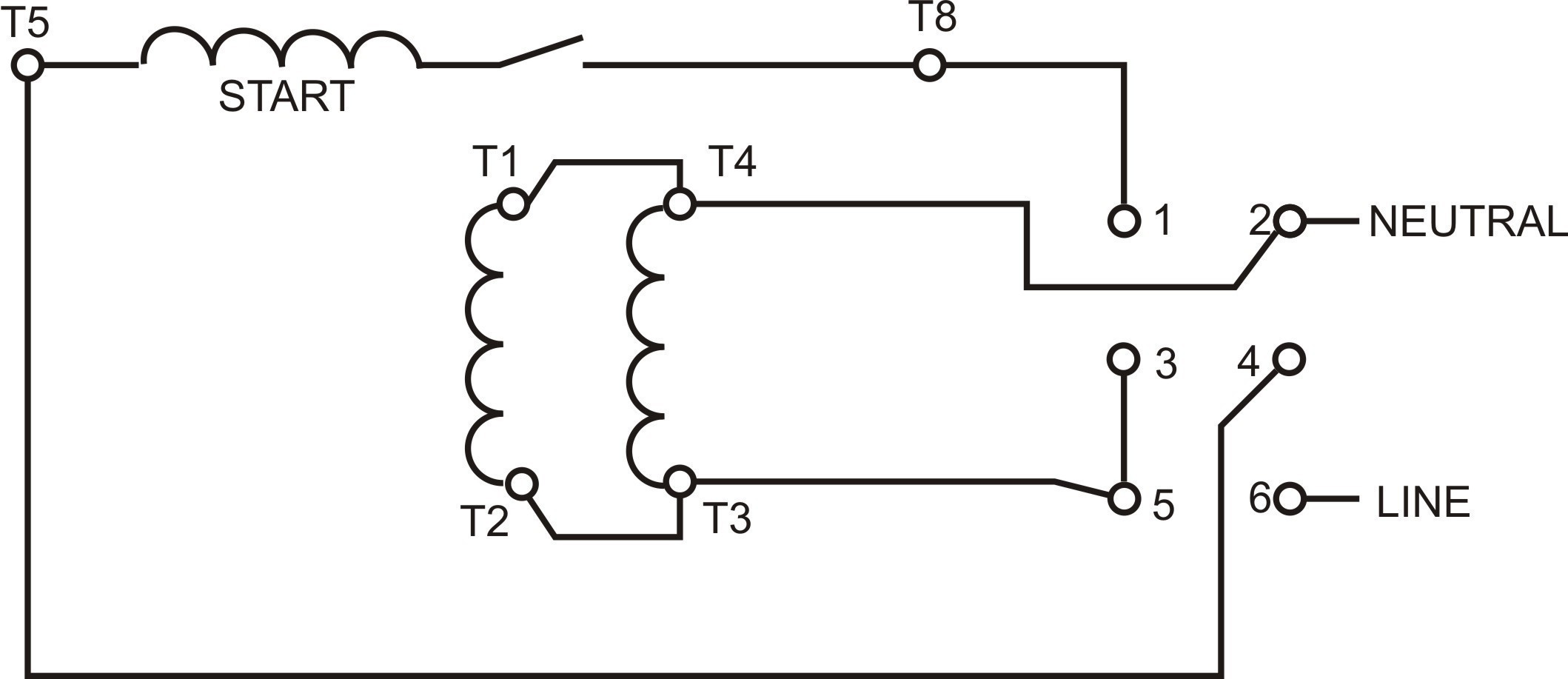Reversing Single Phase Motor Wiring Diagram Best Of