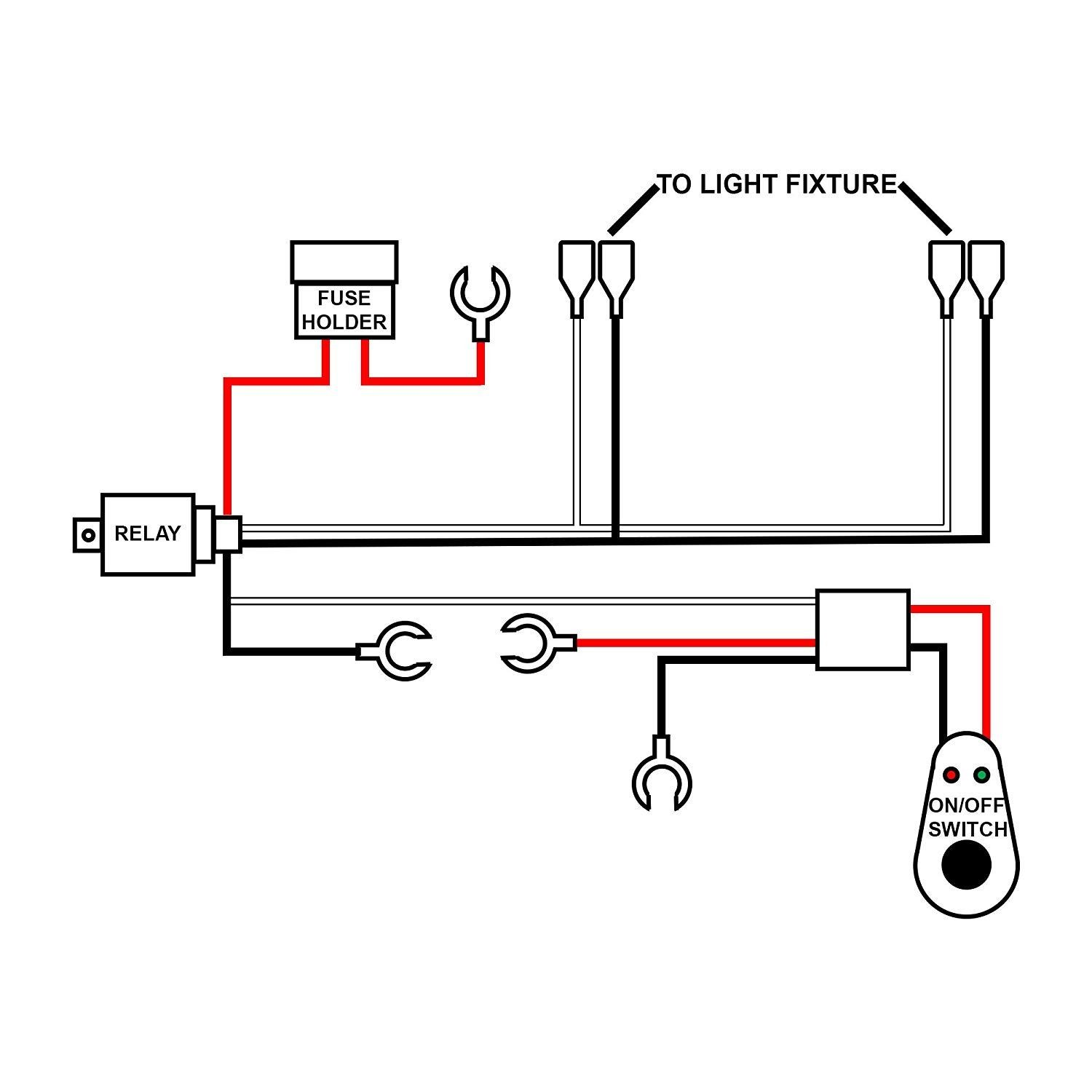 Led Light Bar Wiring Diagram Relay Inspirational