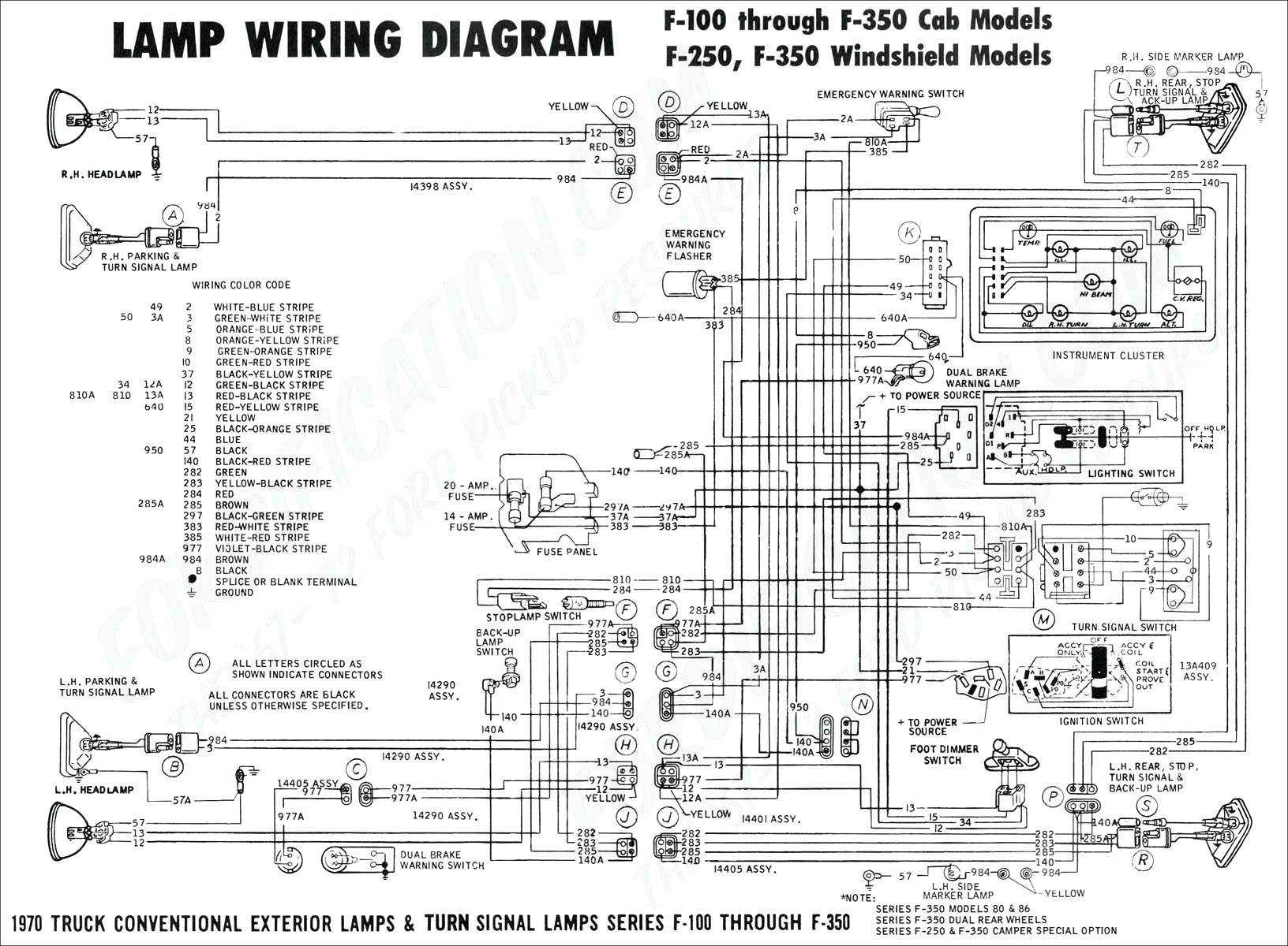 Ram Parking Lamp Circut Diagram