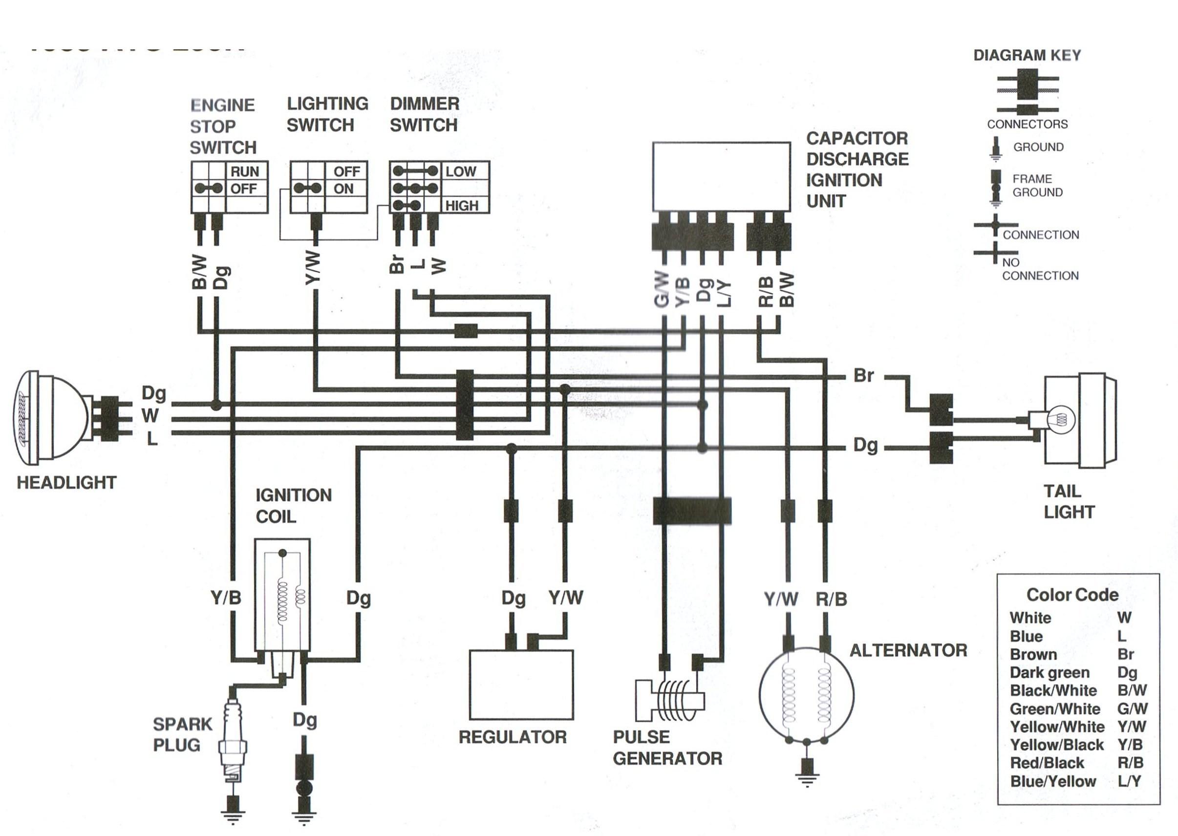Wiring Diagram 09 Yamahah Kodiak