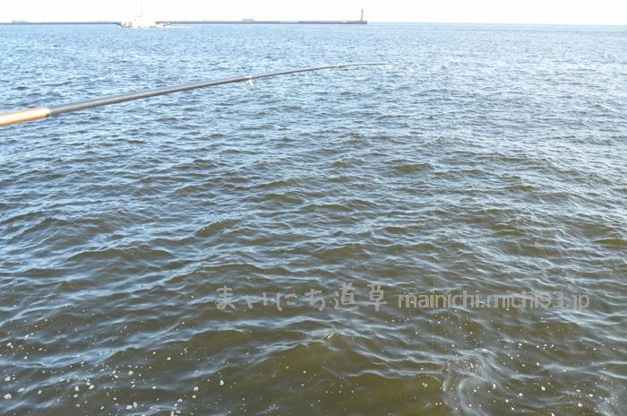 濁った海水