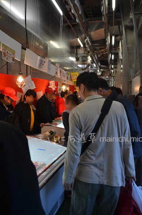 食肉・食肉加工品販売コーナー