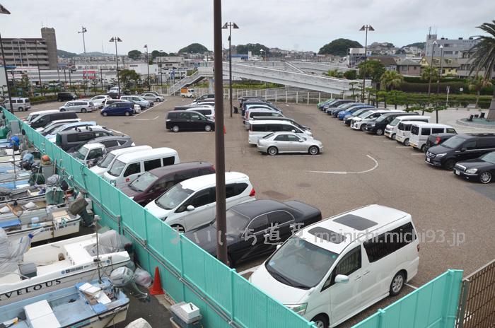 横須賀・海辺つり公園 駐車場