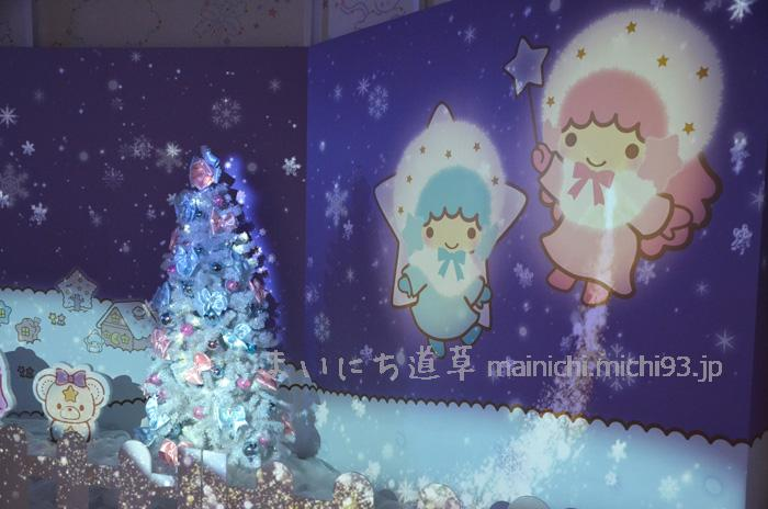 キキララのマジカルスノー@ピューロクリスマス