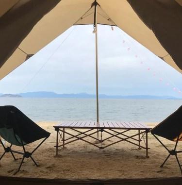 マキノサニービーチ高木浜オートキャンプ場を本音レビュー!設備や施設をブログで紹介!周辺の温泉情報も!