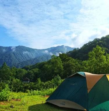 魚沼市銀山平キャンプ場はどんな場所?併設温泉や設備などをブログで紹介!