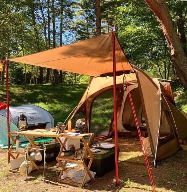 松原湖高原オートキャンプ場を本音レビュー!設備や施設をブログで紹介!周辺の温泉情報も!