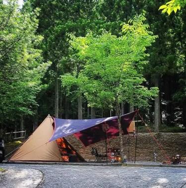 天川みのずみオートキャンプ場はどんな場所?設備や施設をブログで紹介!周辺の温泉情報も!