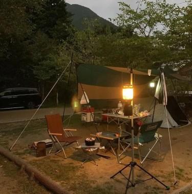 白の平オートキャンプ場を本音レビュー!設備や施設をブログで紹介!周辺の温泉情報も!