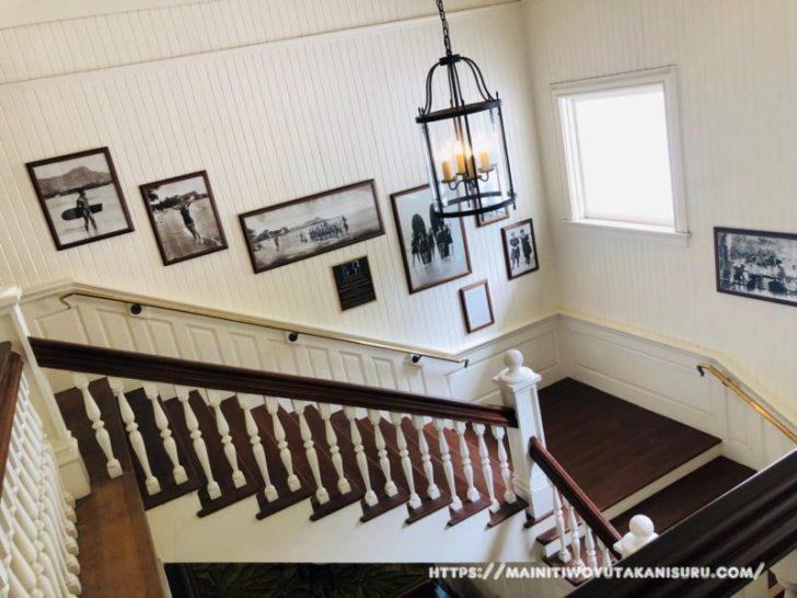 【入居後3ヵ月WEB内覧会】窓枠にアクセントが入った階段・廊下