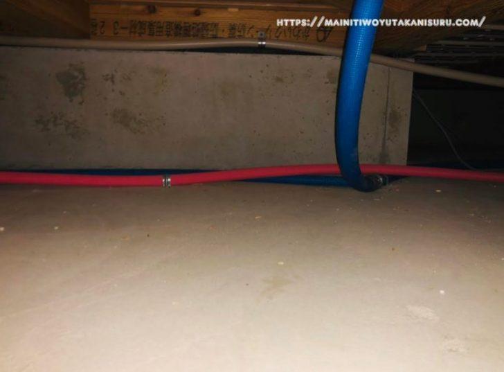 【注文住宅日記2020/7/17】床下点検口・・・こんな位置にあったのね、そういえば天井点検口は・・・