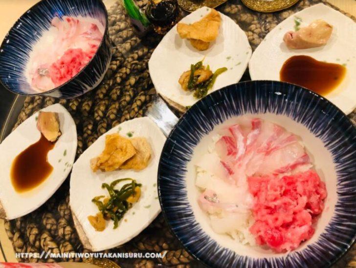 【注文住宅日記2021/1/25】先週の朝食・お弁当・夕食の献立(丼物海鮮)