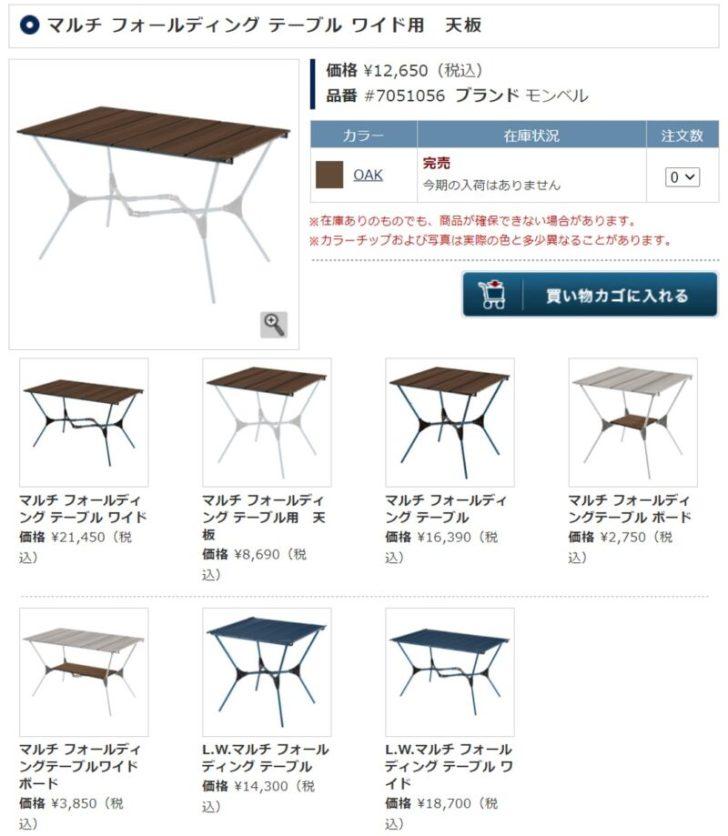 【キャンプ初心者夫婦のキャンプギア購入記②】テーブルとコンロとイス