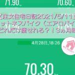 【注文住宅日記2021/5/11】フィットネスバイク(エアロバイク)でどれだけ痩せれる?!3ヵ月時点