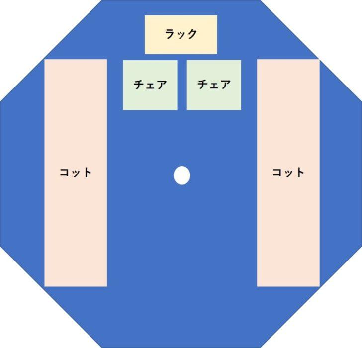 【テンティピサファイア7CPレビュー②】ソロかデュオキャンプにちょうどイイサイズかと