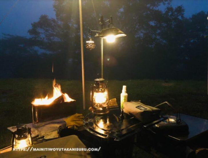 暴風雨キャンプの5つの不安・・・